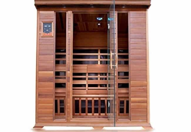 Sunray Sequioa 4 Person Infrared Cedar Sauna Review