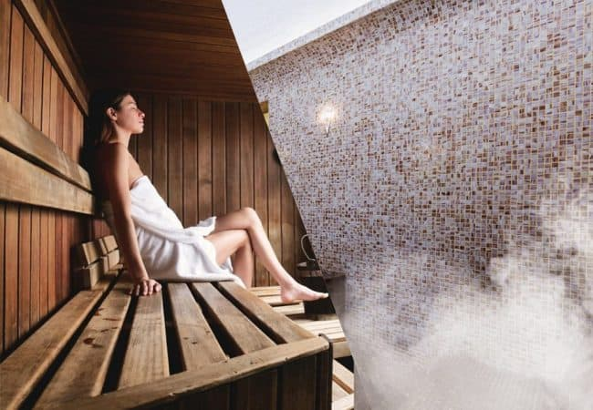 Sauna vs Steam Room – Which one to pick?