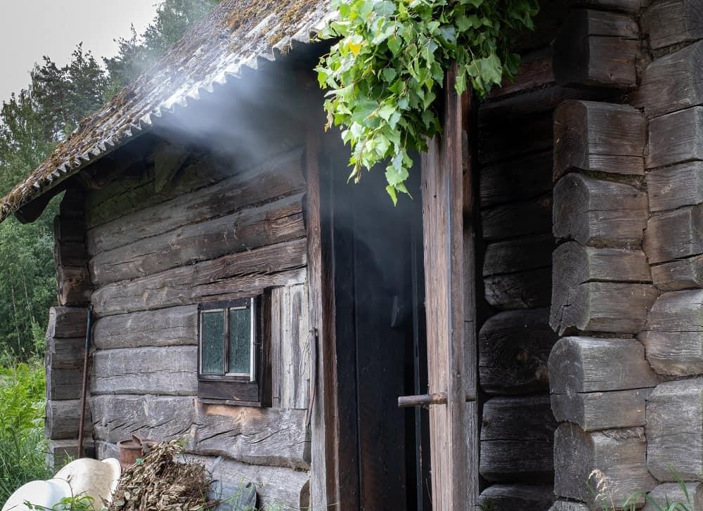 traditional smoke sauna
