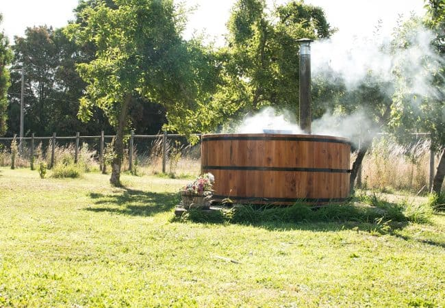 How To Build A Wood-Fired Hot Tub – DIY Guide With Steps!